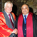 Sheikh Mohamed Bin Issa Al Jaber, made Honorary Fellow of Corpus Christi College, Oxford