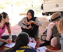Cultural Dialogue in the Omani Desert supported by the MBI Al Jaber Foundation