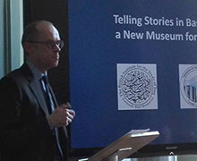 "MBI Al Jaber Lecture Series: ""Telling Stories in Basrah: A New Museum for Iraq"" by Dr Paul Collins"