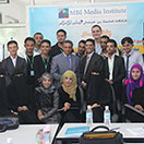 Successful course at the MBI Al Jaber Media Institute, Yemen concludes.